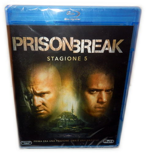 Prison Break - Die komplette Staffel/Season 5 [Blu-ray] (Deutscher Ton)