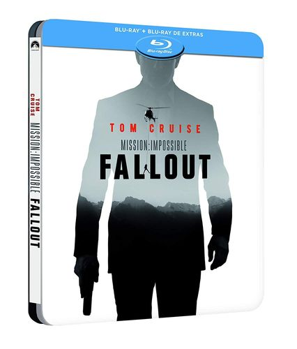 Mission Impossible Fallout [Blu-Ray] 2-Disc limited Steelbook (Deutscher Ton)