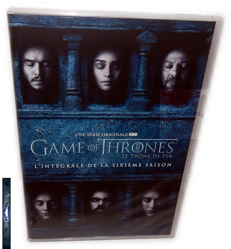 Game of Thrones - Die komplette Staffel/Season 6 [DVD] (Deutscher Ton)