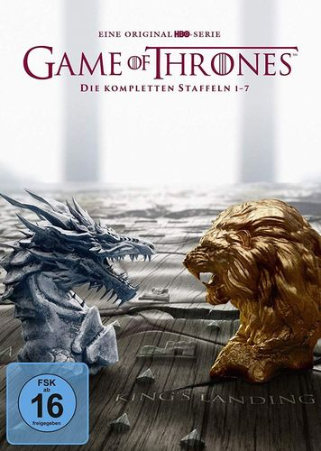 Game of Thrones - Die komplette Staffel/Season 1,2,3,4,5,6,7 [DVD] Box-Set