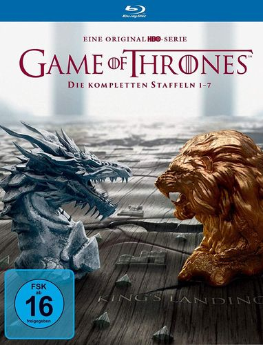 Game of Thrones - Die komplette Staffel/Season 1,2,3,4,5,6,7 [Blu-Ray]