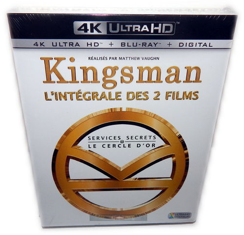 Kingsman 1+2 Box Set [4K UHD+Blu-Ray] 4-Disc (Deutscher Ton)