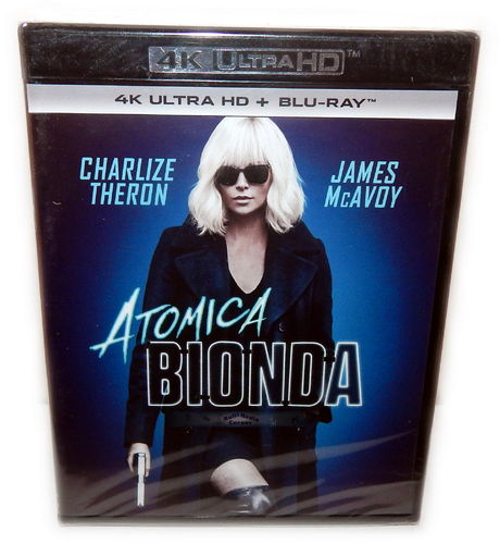 Atomic Blonde [4K Ultra HD+Blu-Ray] Charlize Theron (Deutscher Ton)