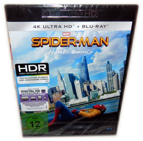 Spider-Man Homecoming [4K Ultra HD+Blu-Ray]