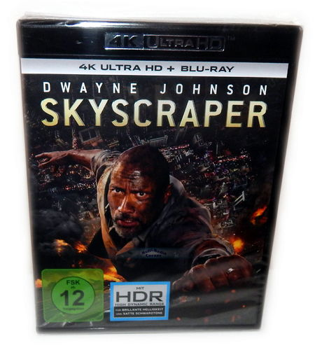 Skyscraper [4K UHD+Blu-Ray] 4K Ultra HD (Dwayne Johnson)