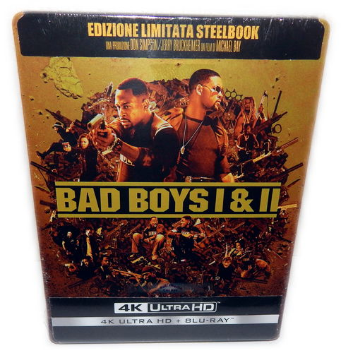 Bad Boys 1+2 Steelbook (uncut, Teil 2 Extended Cut) [4K UHD](Deutscher Ton)