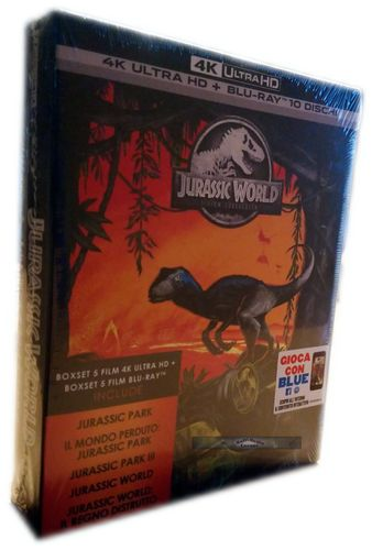 Jurassic 5 Movie Collection [4K Ultra HD+Blu-Ray] 10-Disc (Deutscher Ton) EU-Import