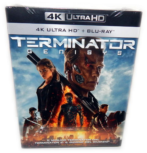 Terminator 5 Genisys [4K Ultra HD+Blu-Ray] 2-Disc (Deutscher Ton)