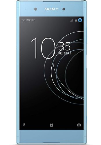Sony Xperia XA1 Plus Smartphone (14 cm (5,5 Zoll)Display 32 GB, Android 7.0) blau
