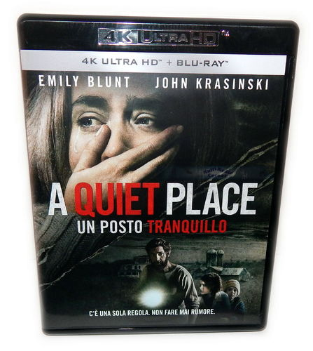 A Quiet Place [4K Ultra HD+Blu-Ray] Emily Blunt John Krasinski (Deutscher Ton)