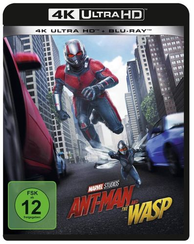 Ant-Man and the Wasp [4K Ultra HD+Blu-ray] Marvel Studios