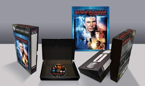 Blade Runner - Final Cut [Blu-Ray] limited Edition VHS Style (Deutscher Ton)