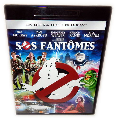 Ghostbusters [4K Ultra HD-Blu-Ray] Bill Murray, Dan Aykroyd (Deutscher Ton)