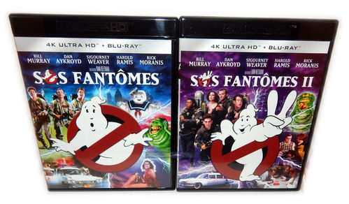 Ghostbusters I+II [4K Ultra HD+Blu-Ray] Bill Murray (Deutscher Ton) Set