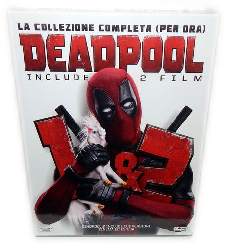 Deadpool 1+2 [Blu-ray] 3-Disc Box Set (Deutscher Ton)