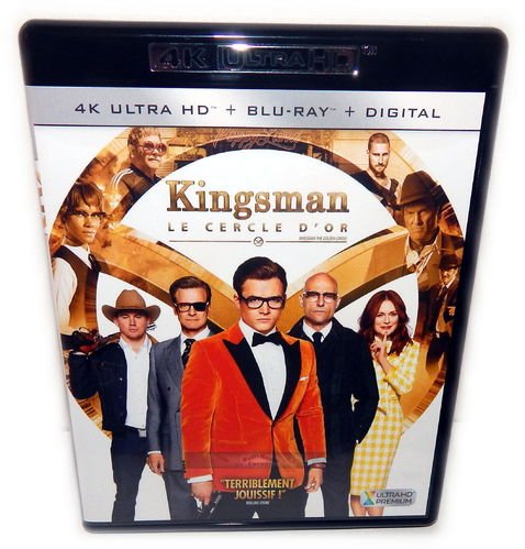 Kingsman (2) The Golden Circle [4K Ultra HD+Blu-Ray] 2-Disc (Deutscher Ton)