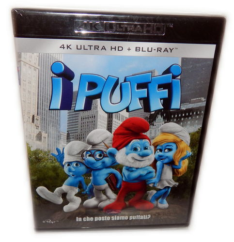 Die Schlümpfe [4K Ultra HD+Blu-Ray] Sony Pictures Animation (Deutscher Ton)