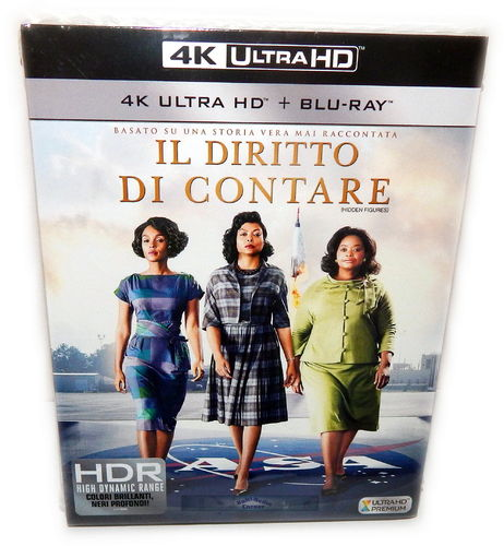 Hidden Figures - Unerkannte Heldinnen [4K Ultra HD+Blu-Ray](Deutscher Ton)