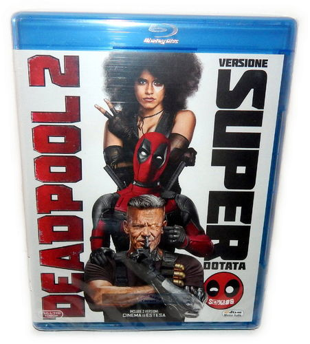 Deadpool 2 [Blu-Ray] Ryan Reynolds Marvel (Deutscher Ton) inkl. Super Duper Cut