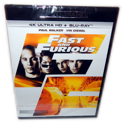 The Fast and (&) the Furious [4K Ultra HD+Blu-Ray] (Deutscher Ton)