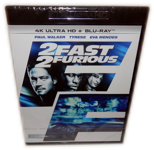 2 Fast 2 Furious [4K Ultra HD+Blu-Ray] (Deutscher Ton)