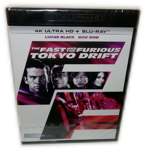 The Fast and (&) the Furious Tokyo Drift [4K Ultra HD+Blu-Ray] (Deutscher Ton)