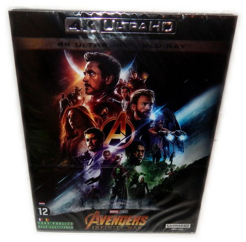 Avengers - Infinity War [4K Ultra HD+Blu-ray] Marvel (Deutscher Ton)