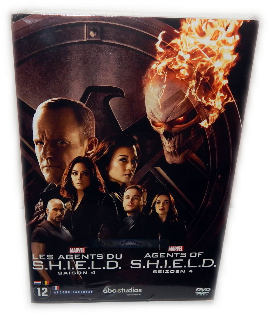 Marvel's Agents of S.H.I.E.L.D (Shield) Die komplette Staffel/Season 4 [DVD] 6-Disc
