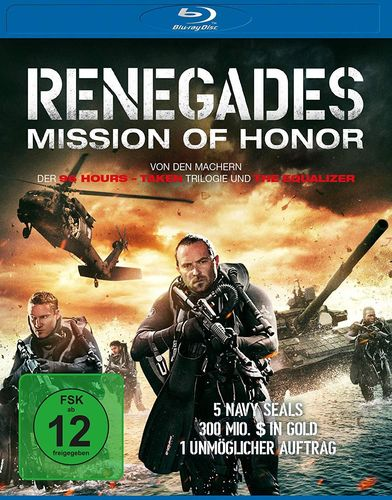 Renegades - Mission of Honor [Blu-Ray] (Luc Besson)
