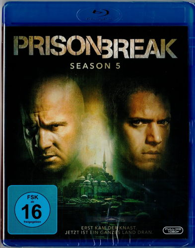 Prison Break - Die komplette Staffel/Season 5 [Blu-ray]