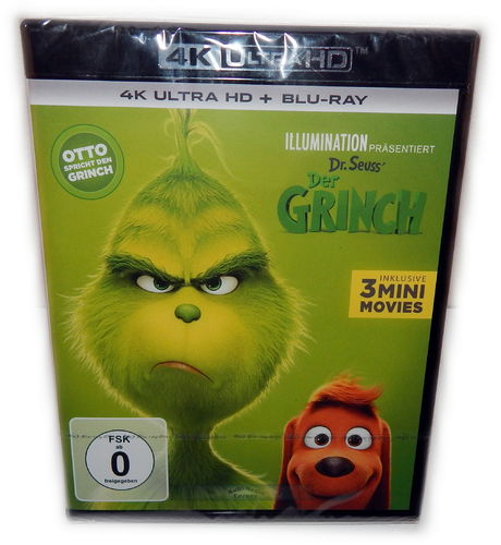 Der Grinch [4K Ultra HD + Blu-Ray] Animation (2018)
