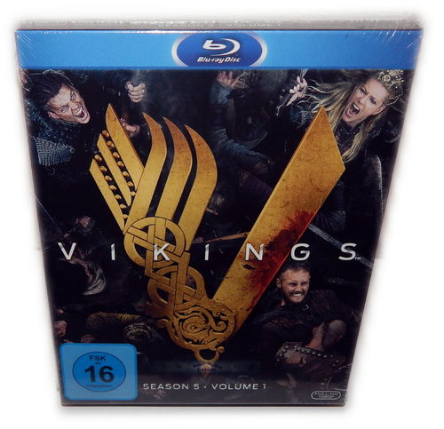 Vikings - Staffel/Season 5 - Volume 1 (5.1) [Blu-Ray] 3-Disc