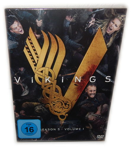 Vikings - Staffel/Season 5 - Volume 1 (5.1) [DVD] 3-Disc Digi-Pack