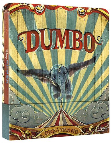 Dumbo (Realverfilmung) [Blu-Ray] limited Steelbook Walt Disney (Deutscher Ton)