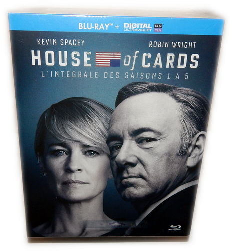 House of Cards - Die komplette Staffel 1,2,3,4,5 [Blu-Ray] 2-5 Deutscher Ton