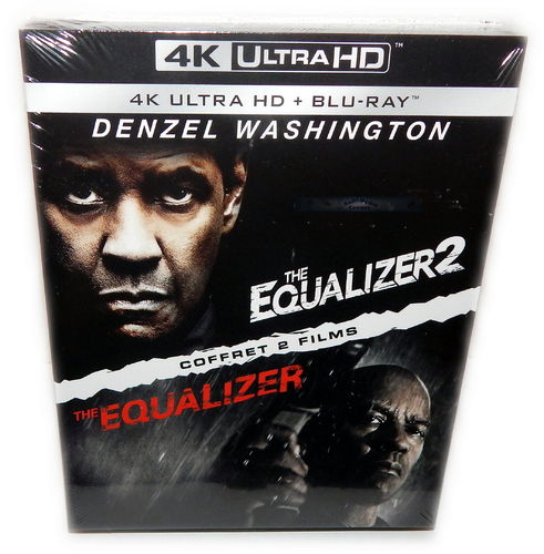 The Equalizer 1+2 [4K Ultra HD] 4-Disk Box-Set (Deutscher Ton)