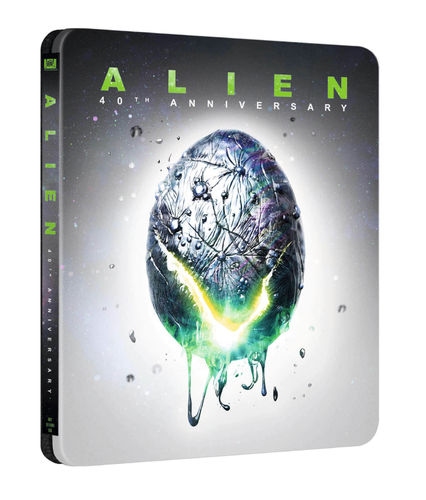 Alien [4K Ultra HD+Blu-Ray] 40th Anniversary 2-Disc Steelbook (Deutscher Ton)