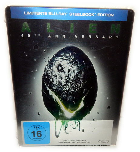 Alien [Blu-Ray] 40th Anniversary limited Steelbook