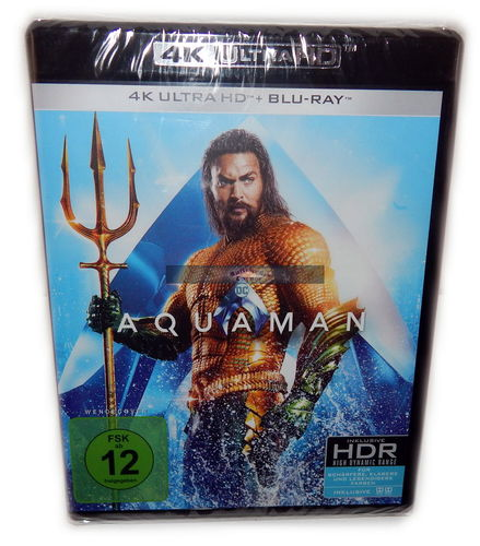 Aquaman [4K Ultra HD+Blu-Ray] 2-Disc (Jason Momoa) DC