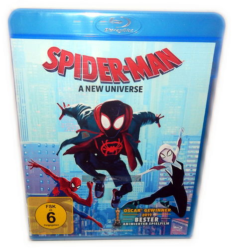 Spider-Man - A New Universe [Blu-Ray] Marvel (Sony Animation)