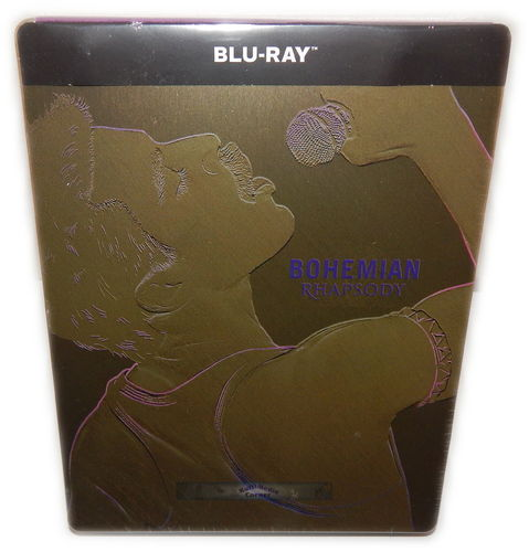 Bohemian Rhapsody [Blu-Ray] limited Steelbook Queen (Deutscher Ton)