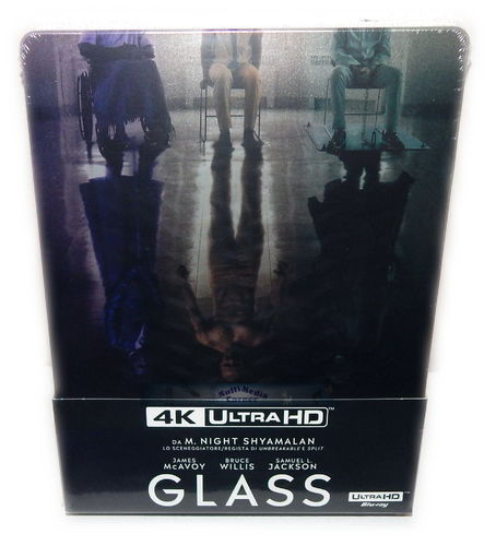 Glass [4K Ultra HD+Blu-Ray] limited Steelbook (Split 2) (Deutscher Ton)