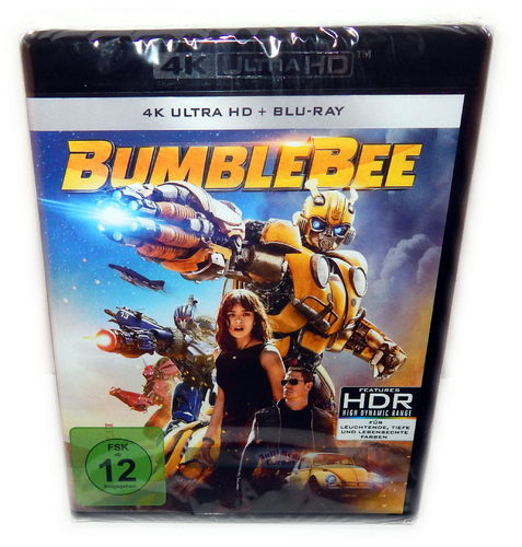 Bumblebee [4K Ultra HD+Blu-Ray] 2-Disc (Transformers)