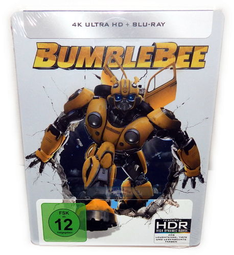 Bumblebee [4K Ultra HD+Blu-Ray] 2-Disc limited Steelbook (Transformers)
