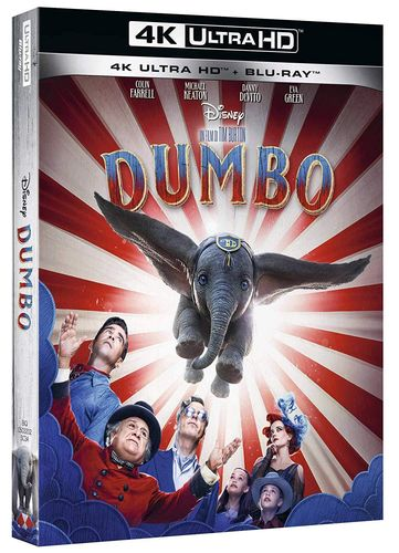 Dumbo (Realverfilmung) [4K Ultra HD+Blu-Ray] Walt Disney (Deutscher Ton)