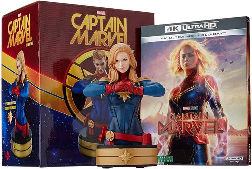Captain Marvel [4K Ultra HD+Blu-ray] limited Edition mit Statue (Deutscher Ton) EU-Import