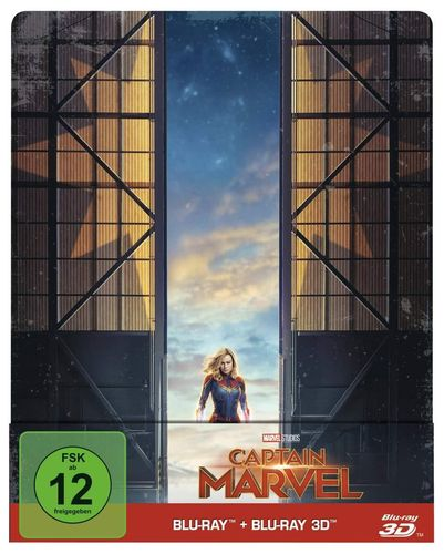 Captain Marvel 3D (+ 2D Blu-ray) limited Steelbook
