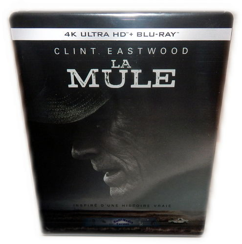 The Mule [4K Ultra HD+Blu-Ray] lim Steelbook Clint Eastwood (Deutscher Ton)