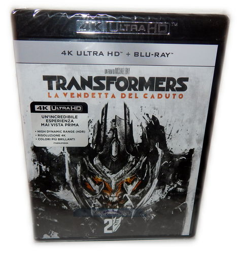 Transformers 2 - Die Rache [4K Ultra HD+Blu-Ray] (Deutscher Ton)