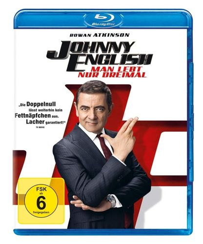 Johnny English (3) Man lebt nur dreimal [Blu-Ray] Rowan Atkinson